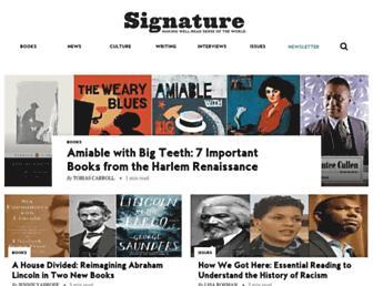 signature-reads.com screenshot