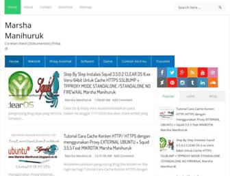 marsha-manihuruk.blogspot.com screenshot