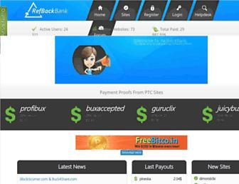 Thumbshot of Refbackbank.com