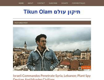 richardsilverstein.com screenshot