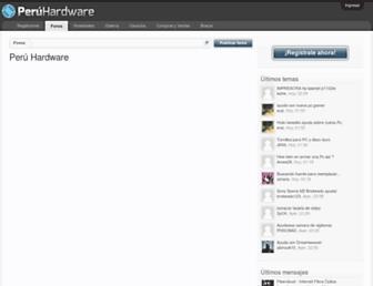 peruhardware.net screenshot