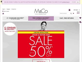 Thumbshot of Mandco.com