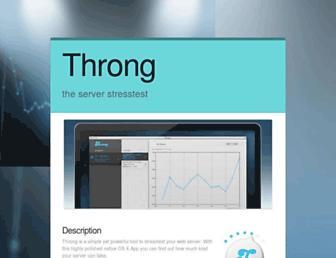 throng.io screenshot