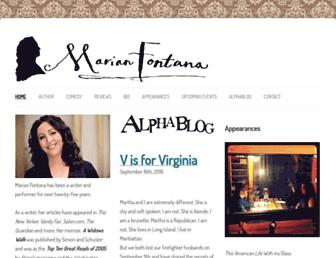 Thumbshot of Marianfontana.com