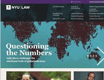 its.law.nyu.edu screenshot