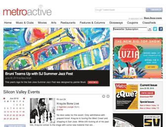 Thumbshot of Metroactive.com