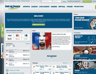 Thumbshot of Bet-at-home.com