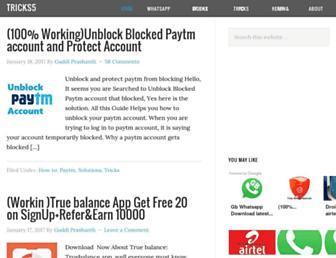 tricks5.com screenshot