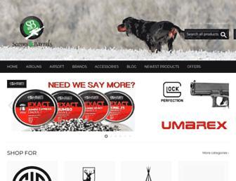 scopesandbarrels.com screenshot