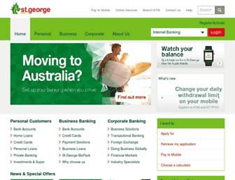 Fullscreen thumbnail of stgeorge.com.au