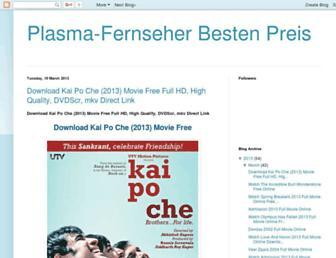 plasmafernseherbestenpreis.blogspot.com screenshot