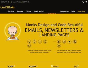 emailmonks.com screenshot
