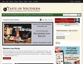 tasteofsouthern.com screenshot