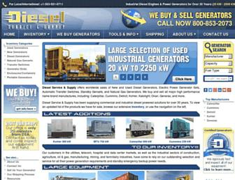 dieselserviceandsupply.com screenshot