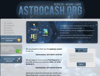 Thumbshot of Astrocash.org