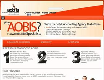 aobis.com.au screenshot