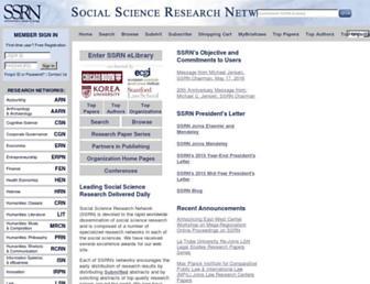 ssrn.com screenshot