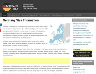 germany-visa.org screenshot