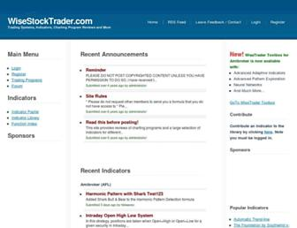wisestocktrader.com screenshot