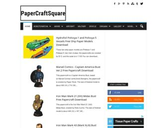 Thumbshot of Papercraftsquare.com