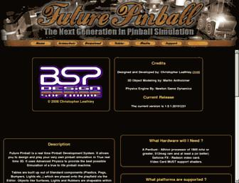 futurepinball.com screenshot