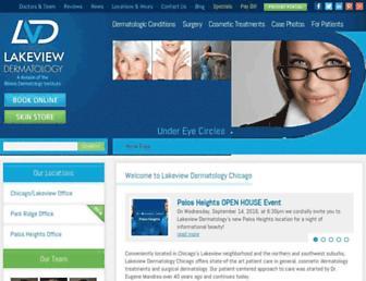 lakeviewderm.com screenshot