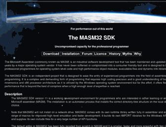 masm32.com screenshot