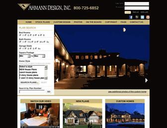 ahmanndesign.com screenshot