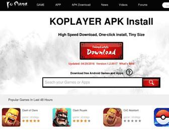apk.koplayer.com screenshot