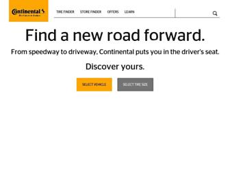 continentaltire.com screenshot