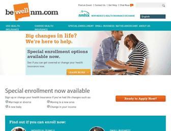 bewellnm.com screenshot
