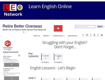 Thumbshot of Learn-english-online.org