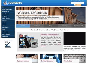 Screenshot for gardners.com