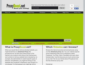 proxyboost.net screenshot