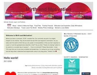 Thumbshot of Mirthandmotivation.com