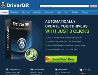 driverdr.com screenshot