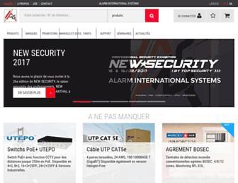 ais-security.be screenshot