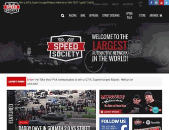 Thumbshot of Speedsociety.com