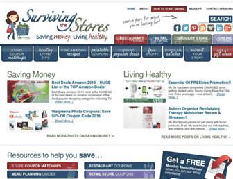 Thumbshot of Survivingthestores.com