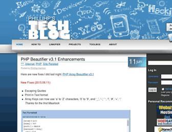 phillihp.com screenshot