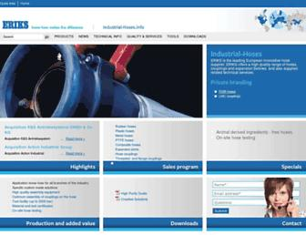 industrial-hoses.info screenshot
