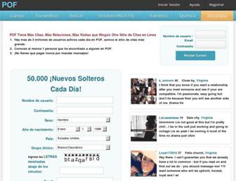 mx.pof.com.mx screenshot