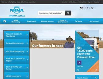 mynrma.com.au screenshot