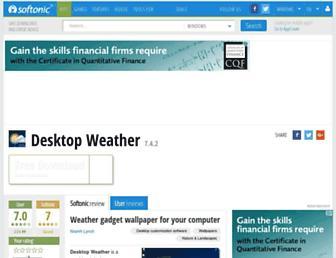 desktop-weather.en.softonic.com screenshot
