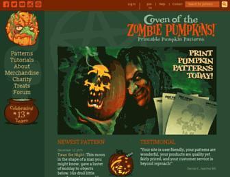 Thumbshot of Zombiepumpkins.com