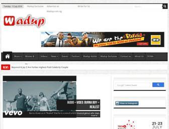 wadup.com.ng screenshot