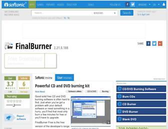 finalburner.en.softonic.com screenshot