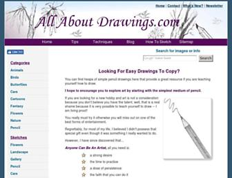 allaboutdrawings.com screenshot