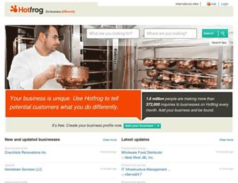 Thumbshot of Hotfrog.com