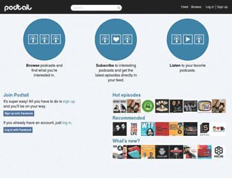 podtail.com screenshot